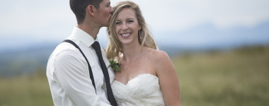 Backyard Wedding in Cochrane!